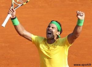 Rafael Nadal gagne à Monte Carlo