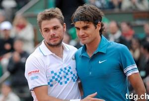 Roger Federer a battu Wawrinka