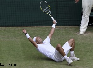 Rafael Nadal gagne à Wimbledon
