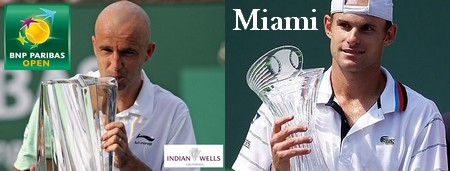Indian Wells et Miami Masters 1000