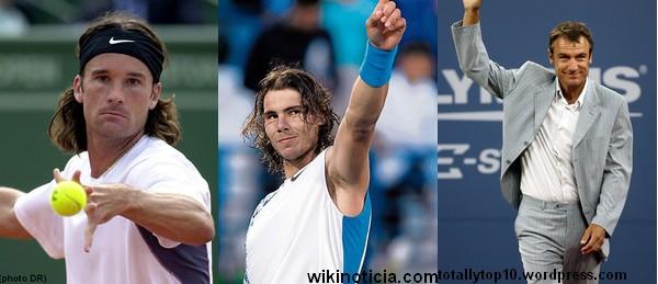 Moya, Nadal, Wilander