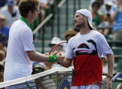 Andy Murray affronte Alex Bogomolov