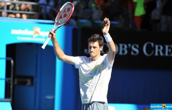 Tomic vainqueur de Verdasco à l'Open d'Australie