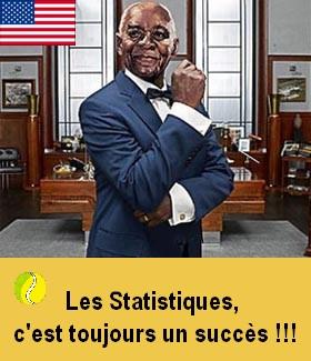 Les statistiques, c'est toujours un succès