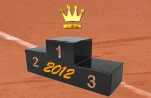 Le meilleur joueur de tennis sur terre battue en 2012