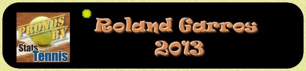 Les pronostics tennis de Roland Garros