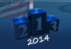 Les statistiques tennis sur dur américain en 2014